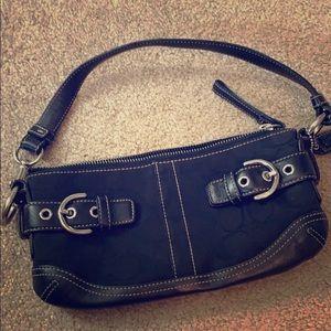 Coach, black handbag